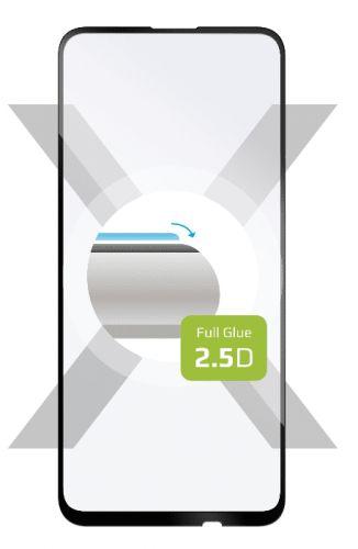 Fixed Ochranné tvrzené sklo Full-Cover pro Huawei P40 Lite, lepení přes celý displej, černé FIXGFA-509-BK