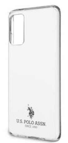 U.S. Polo Assn. Small Horse Kryt pro Samsung Galaxy S20 Ultra White (USHCS69TPUWH)