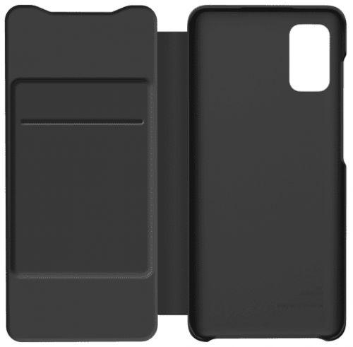 Samsung Flipové pouzdro Wallet Cover pro Samsung Galaxy A41 GP-FWA415AMABW, černé