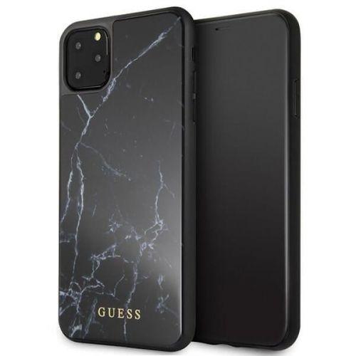 Guess MARBLE kryt Apple iPhone 11 Pro Max černý