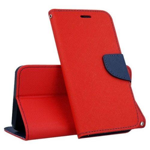 FORCELL FANCY Peňaženkový obal Samsung Galaxy S10 Plus červený