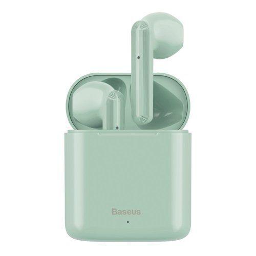 BASEUS ENCOK W09 Bezdrátová sluchátka zelené