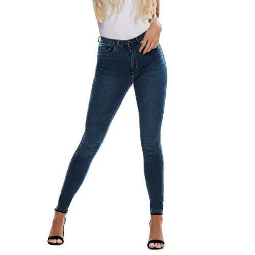 ONLY Dámské skinny džíny ONLROYAL 15181725 Dark Blue Denim (Velikost L/30)