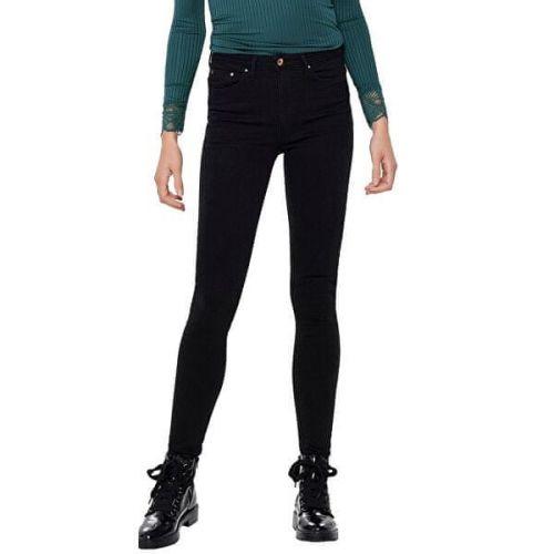 ONLY Dámské skinny džíny ONLPAOLA 15167410 Black Denim (Velikost L/30)