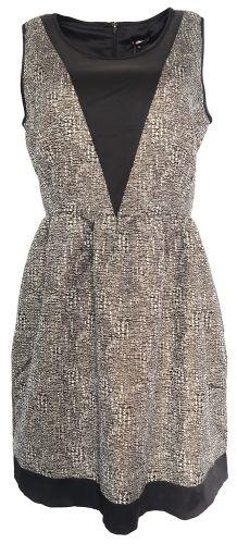Morgan Zlaté lesklé šaty MORGAN Zlatá 44 cena od 417 Kč