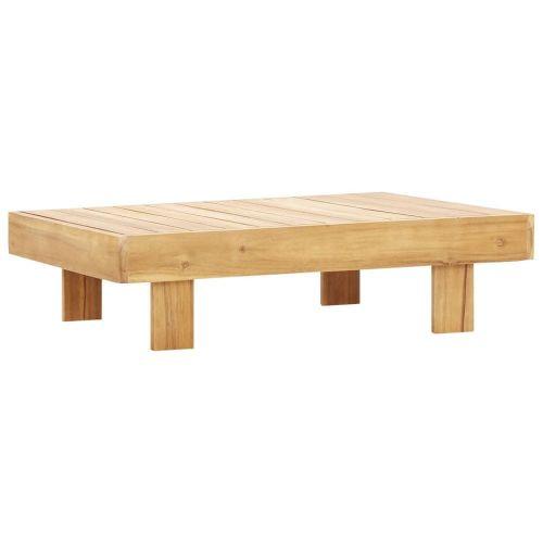 Vidaxl Konferenční stolek 100 x 60 x 25 cm masivní akáciové dřevo
