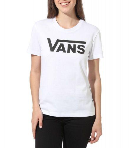 Vans dámské tričko WM Flying V Crew Tee White L bílá