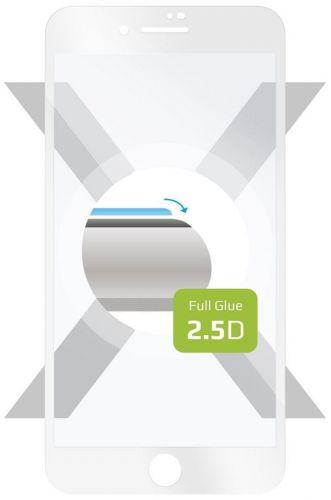 Fixed Ochranné tvrzené sklo Full-Cover pro Apple iPhone 7 Plus/8 Plus, lepení přes celý displej, bílé FIXGFA-101-WH