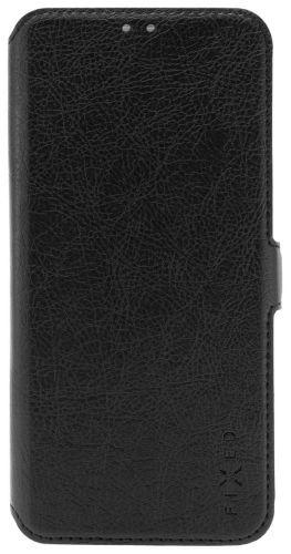 Fixed Tenké pouzdro typu kniha Topic pro Huawei Y5 (2019) FIXTOP-408-BK, černé