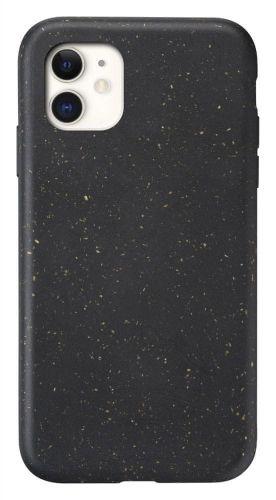 CellularLine Kompostovatelný eko kryt Become pro Apple iPhone 11 BECOMECIPHXR2K, černý