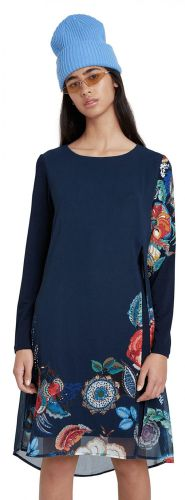 Desigual dámské šaty Vest Siena 20WWVWA5 XS tmavě modrá