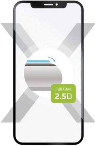 Fixed Ochranné tvrzené sklo Full-Cover pro Sony Xperia 1 II, přes celý displej, černé, FIXGFA-525-BK