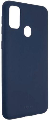 Fixed Zadní pogumovaný kryt Story pro Samsung Galaxy M21, modrý, FIXST-537-BL