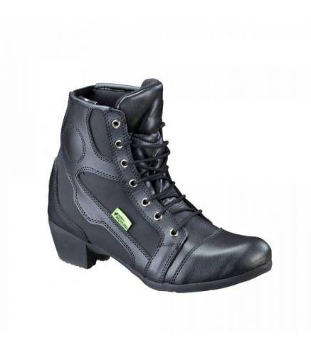 W-TEC Dámské kožené moto boty W-TEC Jartalia NF-6092 41 černá