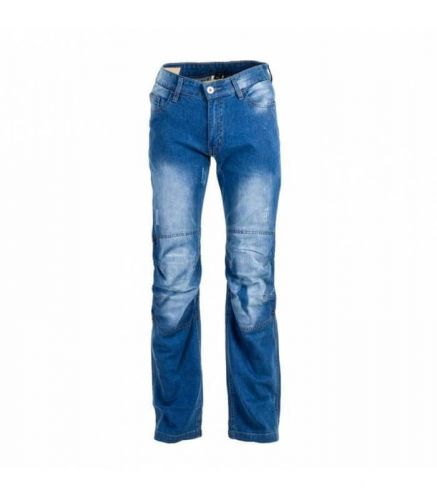 W-TEC Pánské moto jeansy W-TEC Shiquet XL modrá