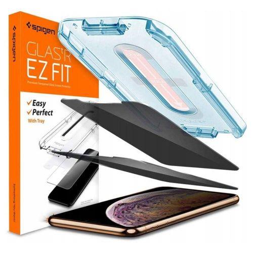 Spigen Alm Glass.Tr Privacy ochranné sklo na iPhone 11 Pro Max / XS Max