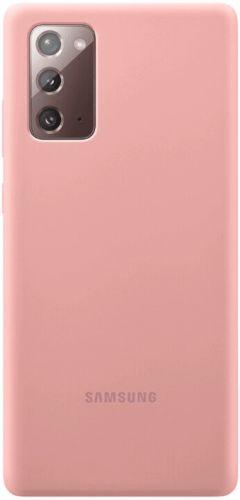 Samsung Silikonový zadní kryt pro Note 20 EF-PN980TAEGEU, růžová