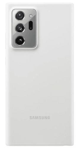 Samsung Silikonový zadní kryt Note 20 Ultra White EF-PN985TWEGEU