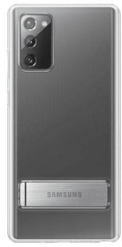 Samsung Průhledný kryt se stojanem pro Note 20 EF-JN980CTEGEU