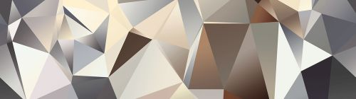 AG design Samolepící bordura 3D Pyramidy 5 m x 14 cm,