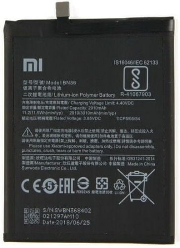 Xiaomi BN36 Original Baterie 3010mAh (Bulk) 2440728