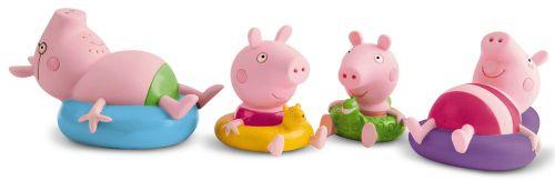 TM Toys Peppa Pig Figurky do koupele 4 ks cena od 439 Kč