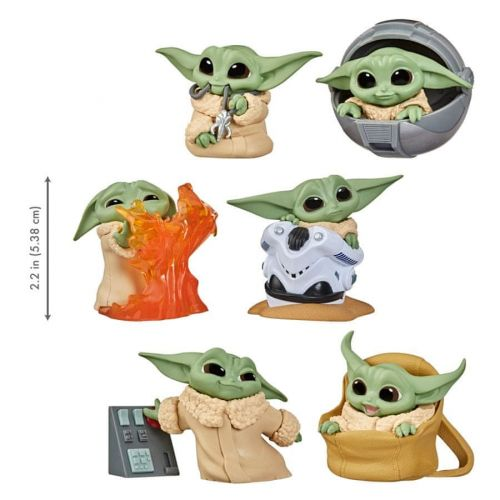 Star Wars figurka Baby Yoda 5 cm