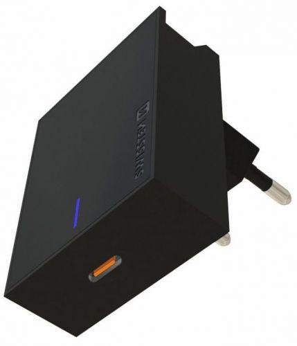 SWISSTEN Síťový adaptér PD 3.0, 18 W, černý 22049000