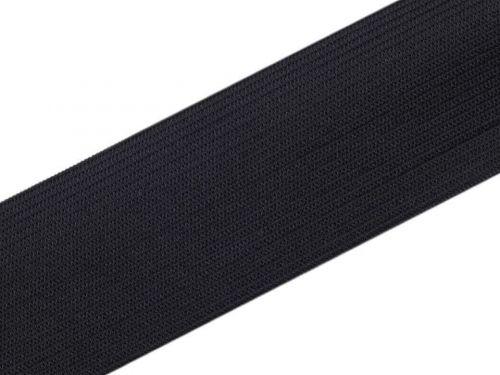 Kraftika 25m černá pruženka hladká šíře 50mm tkaná