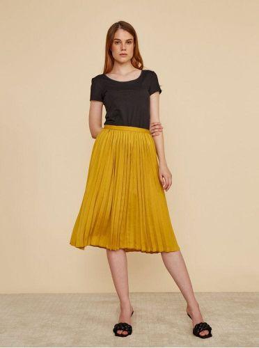 ZOOT hořčicová plisovaná sukně Petra L