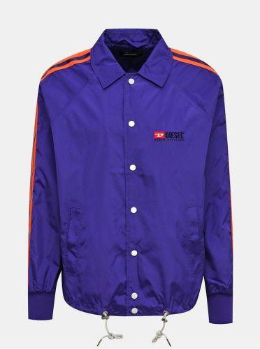 Diesel fialová pánská bunda M cena od 0 Kč