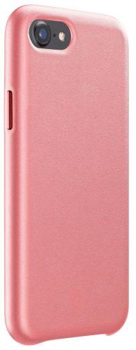 CellularLine Ochranný kryt Elite pro Apple iPhone SE (2020)/8/7/6, PU kůže, lososový ELITECIPH747O