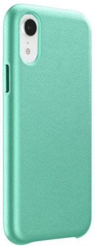 CellularLine Ochranný kryt Elite pro Apple iPhone XR, PU kůže, zelený ELITECIPH961G