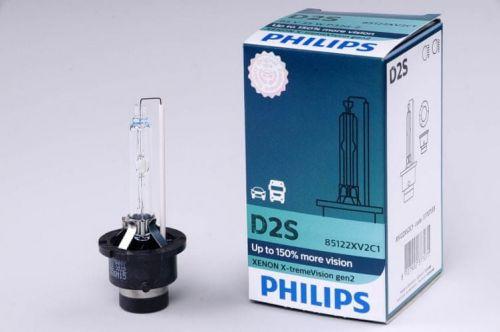 Philips výbojka xenonová D2S 85V 35W P32d-2 X-tremeVision o 150% více světla