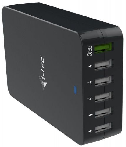 I-TEC USB Smart Charger 6× USB-A, 52 W CHARGER6P52W