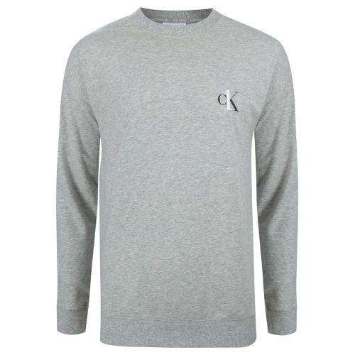 Calvin Klein L/S Sweatshirt NM1864E-080 Šedivá M