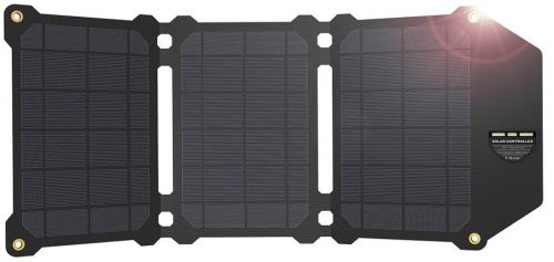 Allpowers AP-ES-004-BLA Solární nabíječka 21W