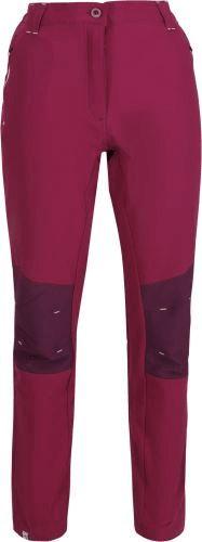 Regatta Dámské softshellové kalhoty Regatta QUESTRA II růžová magenta 38