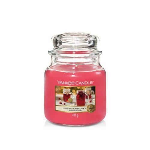 Yankee Candle Vonná svíčka Classic střední Christmas Morning Punch 411 g