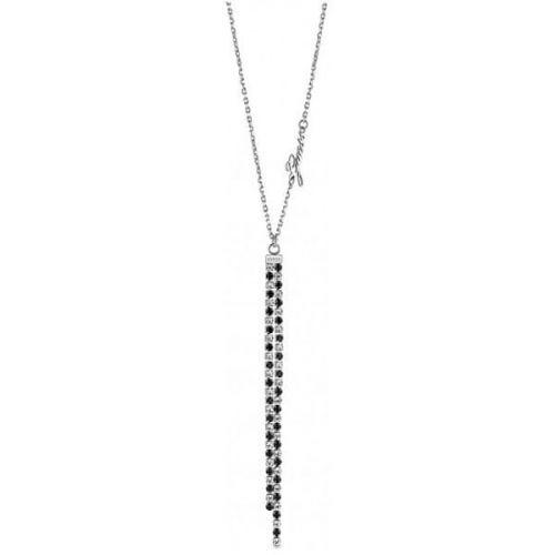 Guess Luxusní třpytivý náhrdelník UBN29095