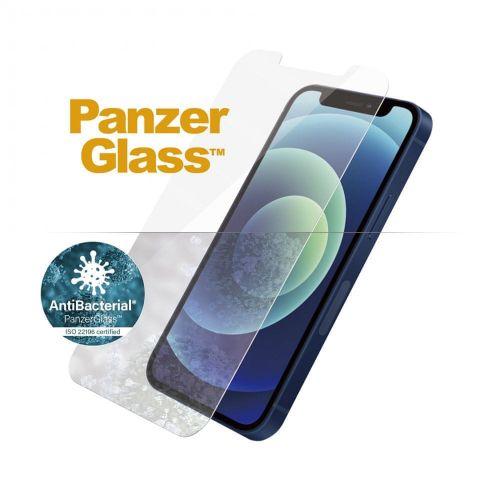PanzerGlass Standard Antibacterial pro Apple iPhone 12 Mini 2707, čiré