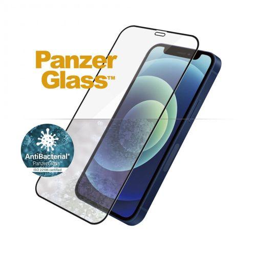 PanzerGlass Edge-to-Edge Antibacterial pro Apple iPhone 12 Mini 5,4″ 2710, černé