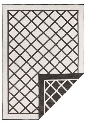 Bougari AKCE: 160x230 cm Kusový koberec Twin Supreme 103425 Sydney black creme 160x230