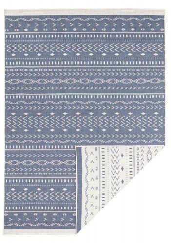 Bougari AKCE: 80x150 cm Kusový koberec Twin Supreme 103439 Kuba blue creme 80x150