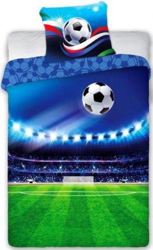 Faro Povlečení Fotbal bavlna 140x200 70x90