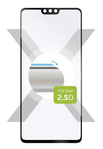 Fixed Ochranné tvrzené sklo Full-Cover pro Honor 9X Lite, lepení přes celý displej, černé FIXGFA-547-BK