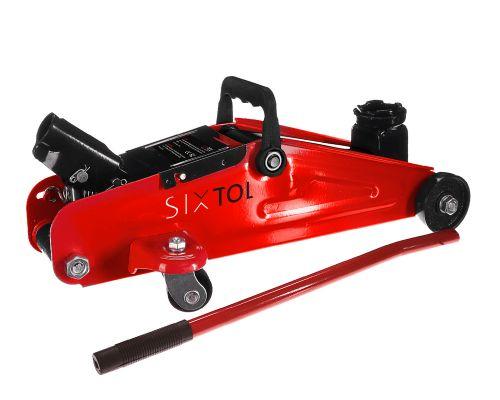 SIXTOL Pojízdný hydraulický zvedák 2t nízkoprofilový SX Jack MINI 2T