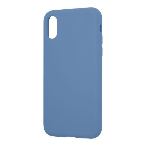 Tactical Velvet Smoothie kryt pro Apple iPhone X/XS 2452506, šedomodrý