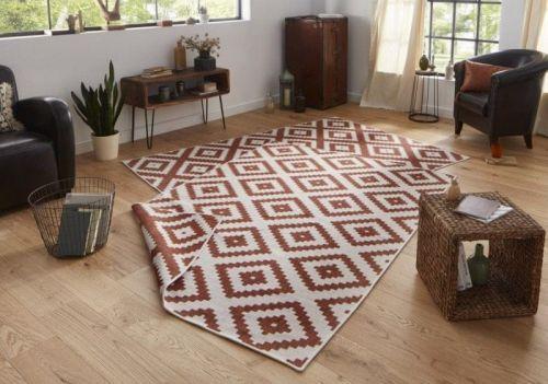 Bougari AKCE: 120x170 cm Kusový koberec Twin-Wendeteppiche 103130 terra creme 120x170