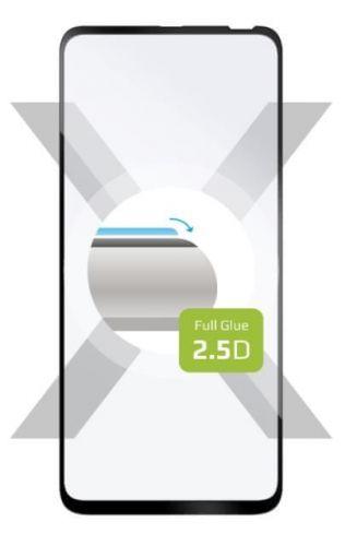 Fixed Ochranné sklo Full-Cover pro Motorola One Fusion+, lepení přes celý displej, černé FIXGFA-577-BK